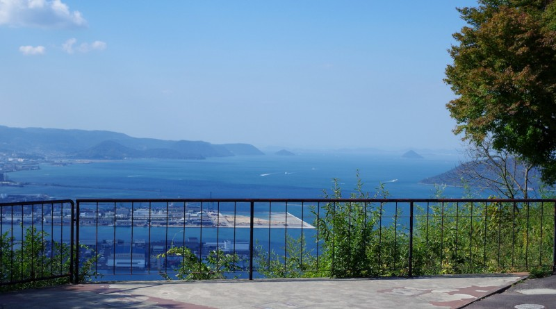 타카마츠 - 야시마 - 정상에서 바라보는 절경