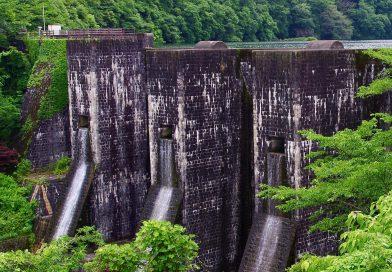 마치 옛 보루와 같은 근대문화재 – 호넨이케댐