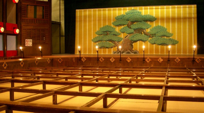Inside 1F - Kanamaruza, Kotohira Kagawa