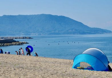 Let's go to the summery Seto Inland Sea – The Tsudanomatsubara Beach resort