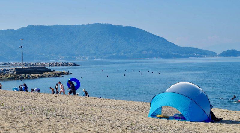Let's go to the summery Seto Inland Sea – The Tsudanomatsubara Beach resort