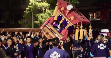 Announcing the autumn in Shido  – The Tawa shrine autumn festival