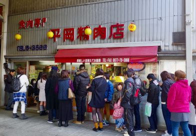 Delicious and tasty street food – the Hiraoka croquette