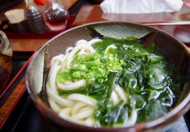 The Marutatsu Udon – Try the sweetness of the soup with Wasanbon
