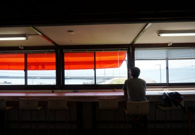 The restaurant Madoka in Ogijima – Enjoy local seafood set with a ocean view