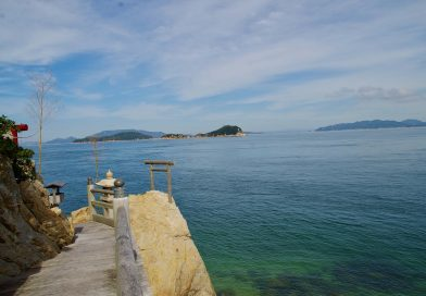 Takeikannon Cape – the northernmost place of Shikoku and protector of Takamatsu Castle