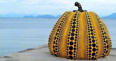 直岛 - 黄色的大南瓜