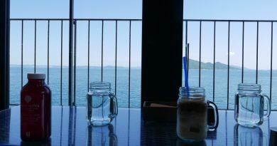坐拥濑户内海海景的NORTHSHORE咖啡厅