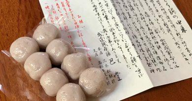 东赞的传统点心 武道饼