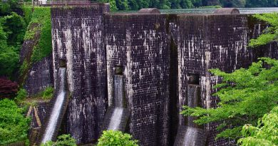 宛如古堡的近代文化遗产 丰稔池堰堤