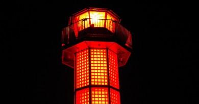紅色燈塔 - 高松市sunport - 高松的景點