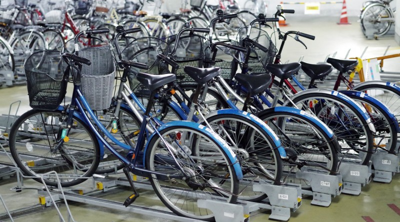 高松的租賃自行車