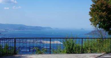 屋岛 - 山顶上的绝妙景色 - 高松的景點
