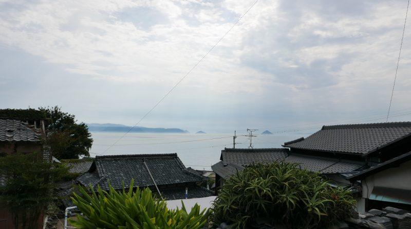 男木島 沿坂道而上的一步一景